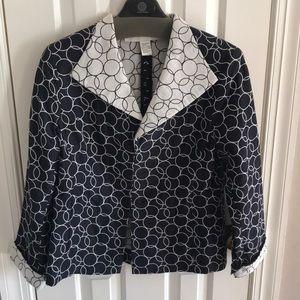 Beautiful Doncaster Jacket, Size 14.  Cotton/Silk